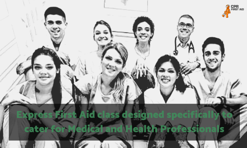 Express First Aid Class Medical and Health Professionals