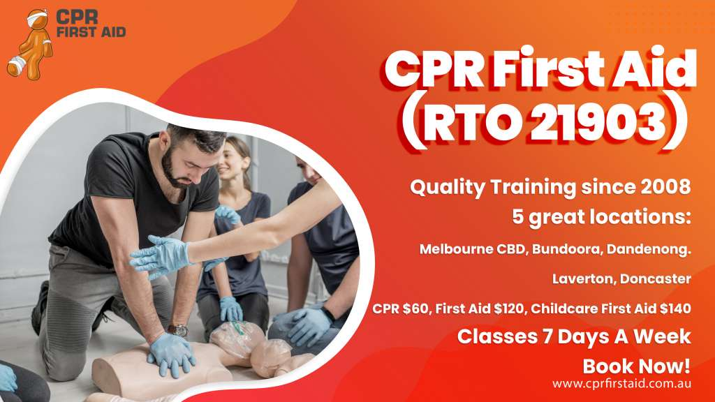 First Aid Course VIC